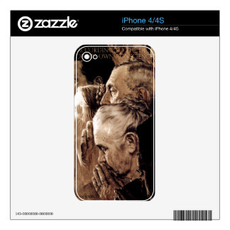 Freedom of Worship iPhone 4 Decal