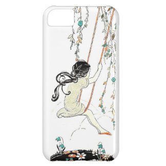 Freedom On A Swing - Vintage Illustration iPhone 5C Case