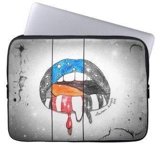 """Freedom on my Lips"" Neoprene Laptop Sleeve"