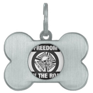 Freedom on the road pet tags