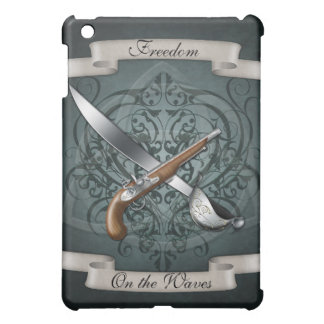 Freedom on the Waves Pirate Green  iPad Mini Covers
