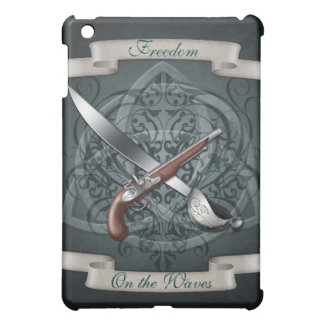 Freedom on the Waves Pirate Teal  Case For The iPad Mini