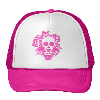 freedom or death-Hot Pink Mesh Hat
