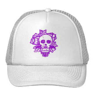 freedom or death-purple hat