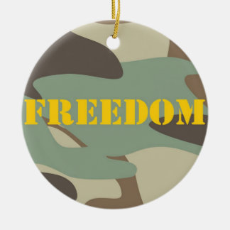 Freedom Ornament - Soldiers Name/Date on Back