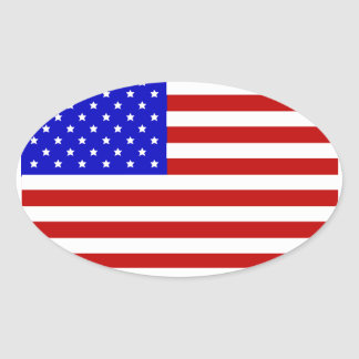 Freedom Oval Sticker