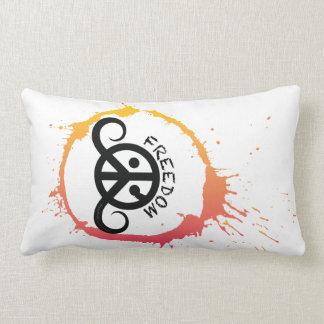 "Freedom pillow (rect.21x13""cotton; sunny splash)"