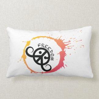 "Freedom pillow (rect.21x13""polyester;sunny splash)"