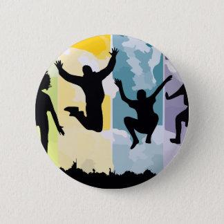 freedom pinback button