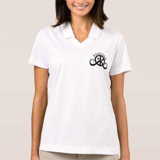 Freedom polo shirt (women's) polo t-shirts