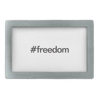 freedom rectangular belt buckles