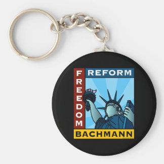 Freedom Reform Liberty Bachmann Keychain
