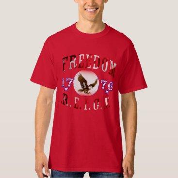 USA Themed Freedom Reign (Alternate) T-Shirt