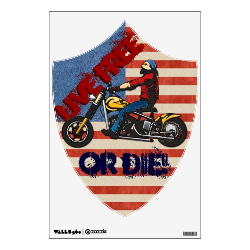 Freedom Rider (Wall Decal) Wall Decals