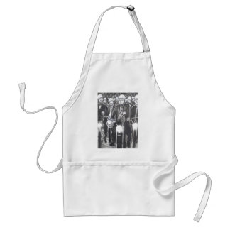 Freedom Riders, Charcoal Art Products Adult Apron