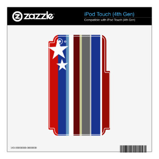 Freedom ring iPod touch 4G skin