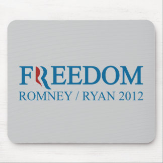 Freedom Romney / Ryan 2012 Mouse Pad