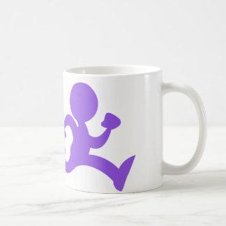 Freedom Run Logo White Mug