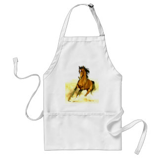 Freedom - Running Horse Adult Apron