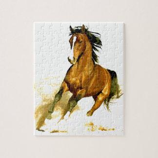 Freedom - Running Horse Jigsaw Puzzle