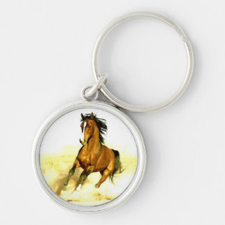 Freedom - Running Horse Keychain