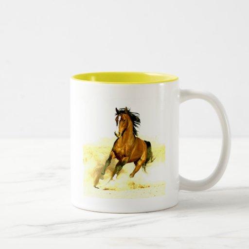 Freedom - Running Horse Mug