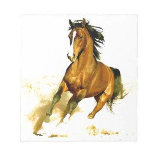 Freedom - Running Horse Notepad