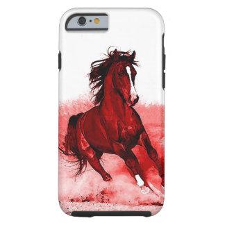 Freedom Running Horse Pop Art Tough iPhone 6 Case