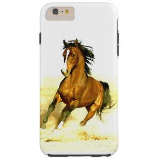 Freedom - Running Horse Tough iPhone 6 Plus Case
