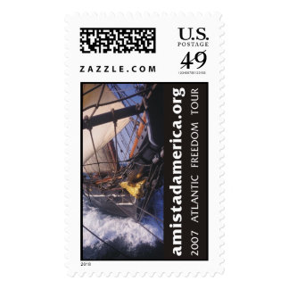 Freedom Schooner Amistad Sailing to Africa Stamp