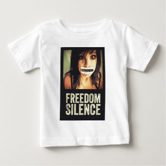 Freedom Silence Baby T-Shirt