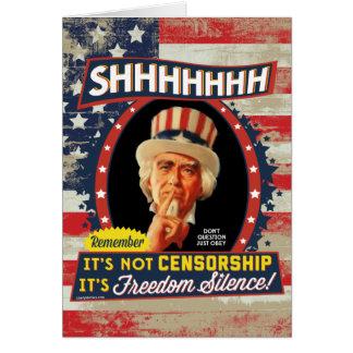 Freedom Silence Card