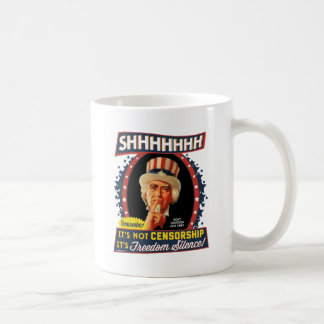 Freedom Silence Coffee Mug