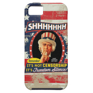 Freedom Silence iPhone 5 Cover