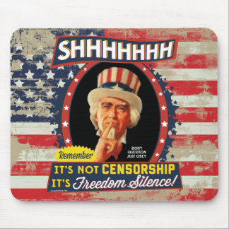 Freedom Silence Mouse Pad