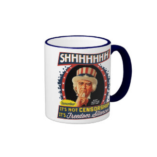 Freedom Silence Ringer Mug
