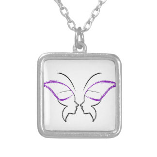 Freedom Silver Plated Necklace