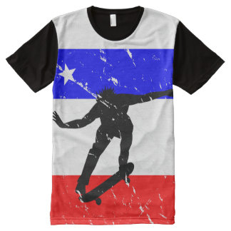 Freedom Skateboard ALL-OVER-T's All-Over Print T-shirt