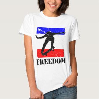 FREEDOM Skateboard APPAREL T-shirt