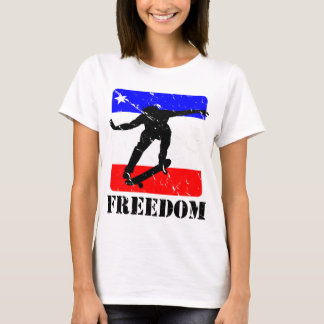 FREEDOM Skateboard APPAREL T-Shirt