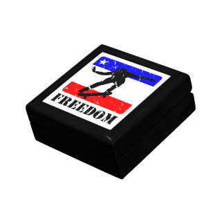 Freedom Skateboarding flair Keepsake Box