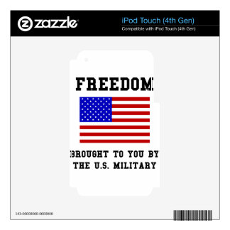 Freedom iPod Touch 4G Decals