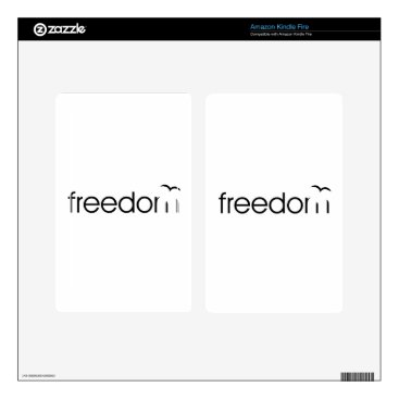 Beach Themed Freedom Skin For Kindle Fire