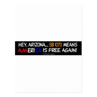 FREEDOM/SMUGGLING/AMERICA POSTCARD