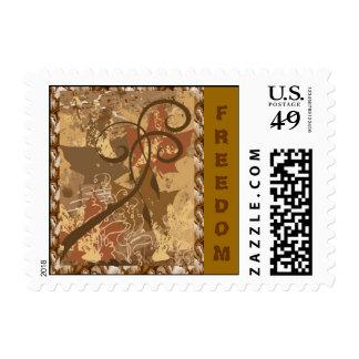 FREEDOM- Stamp