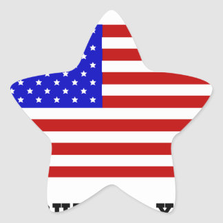 Freedom Star Sticker