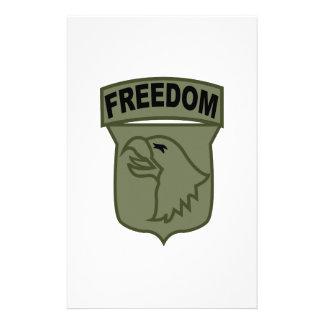 Freedom Custom Stationery