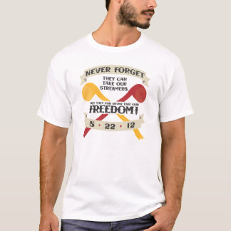 Freedom Streamers T-Shirt