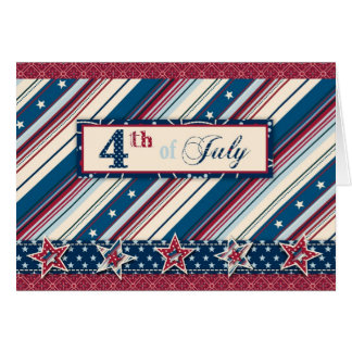 Freedom Stripe Card B