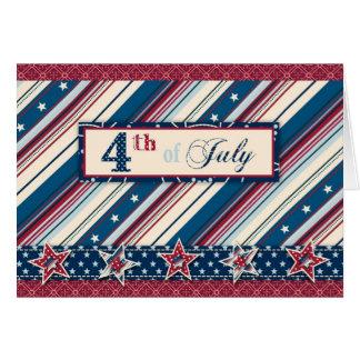 Freedom Stripe Card B